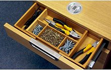 Delay Expandable Desk Drawer Organiser Natur Pur