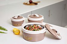 Delcasa DC1120 3pc Hot Pot Insulated Food Warmer,