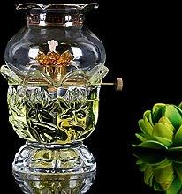 Delicate Kerosene Lamp Horse Lamp with Wick Oil