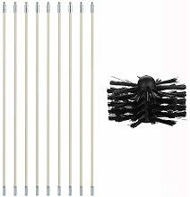 Delisouls Multipurpose Brush Set, Pipe Inner