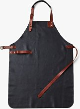 DeliVita Leather Apron, Brown