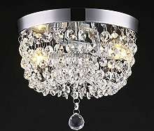 Dellemade 2 Light Crystal Chandelier Modern