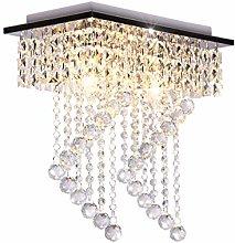 Dellemade Modern Crystal Chandelier Ceiling Light