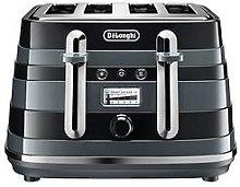 Delonghi Avvolta Class Ctac4003.Bk 4 Slice Toaster