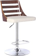 Delphine Height Adjustable Swivel Bar Stool Wade