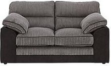 Delta 2 Seater Fabric Sofa