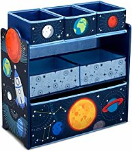 Delta Children Space Adventure 6 Bin Storage Toy