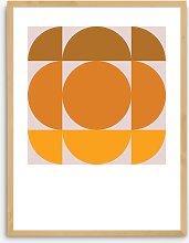 Deltanova - 'Hudson' Framed Print, 83.4 x