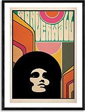 Deltanova - 'Wonderwall' Framed Print,