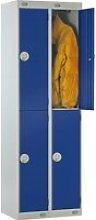 Deluxe 2 Door Locker Nest Of 2, 60wx45dx180h (cm),