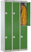 Deluxe 2 Door Locker Nest Of 3, 90wx45dx180h (cm),