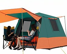 Deluxe Family Tent, 3-6 Man Tent With Separate