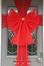 Deluxe Standard Door Bow (Red)