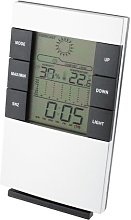 Deluxe Weather Station Alarm Clock Symple Stuff