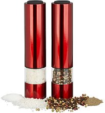 Delvecchio Electric Salt and Pepper Mill Set