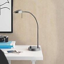 Demetrius LED 45cm Desk Lamp Zipcode Design