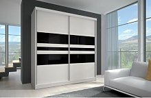 Demian 2 Door Sliding Wardrobe Wade Logan