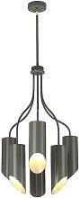 Demuth 6-Light Shaded Chandelier Ebern Designs