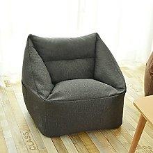 DEMXYA Lazy Sofa Bean Bag Sofa Cover, Household