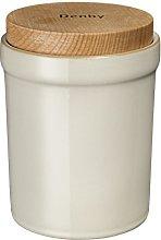 Denby 016010674 Linen Storage Jar, Fabric, Beige