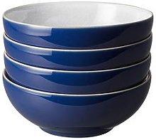 Denby  Elements Dark Blue Cereal Bowls &Ndash; Set