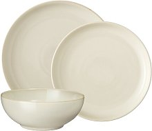 Denby Linen 12 Piece Dinnerware Set, Service for 4