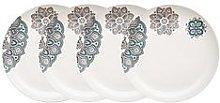 Denby Monsoon Mandala Dinner Plates &Ndash; Set Of 4
