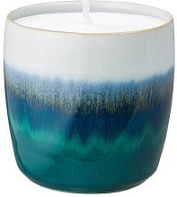 Denby Statements Ceramic Wax Filled Candle Pot