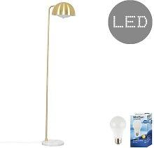 Dendy 155cm Task Floor Lamp Fairmont Park Bulb: