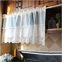 DENGS Tier Curtain Short Curtain, Cafe Curtains