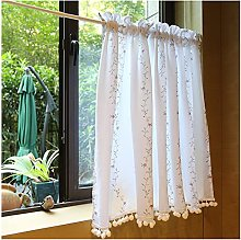 DENGS Tier Curtain Short Curtain, Ventilation Cafe