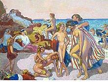 Denis Bacchus Ariadne Beach Seaside Family