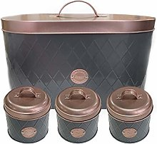 Denny International® Bread Bin + Canister Tea