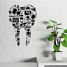 Dental Office Wall Decals Teeth Dentist Doctor
