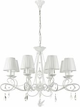 Deon 8-Light Shaded Chandelier Lily Manor