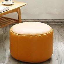 DEPLK Round Ottoman Pouf,comfortable Footrest