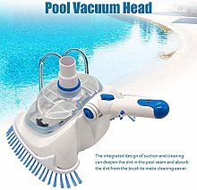 Dequate Swimming Pool Cleaning Brush Head, Large
