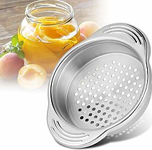 DERCLIVE 1Pc Stainless Steel Canned Food Drainer