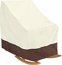 DERCLIVE 70x83x99cm Single Rocking Chair Cover