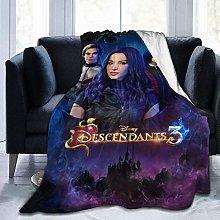 Descendants 3 Throw Blanket Warm Blanket for Kids