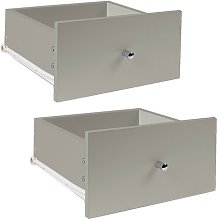 Deserie Drawer Cabinet Mercury Row Finish: Taupe