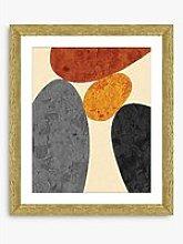 Desert Rocks 1 - Framed Print & Mount, 56 x 46cm,