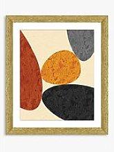 Desert Rocks 4 - Framed Print & Mount, 56 x 46cm,