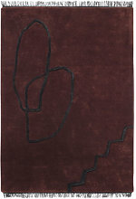 Désert Rug - / 140 x 200 cm - Tissé main by Ferm