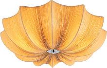 Design ceiling lamp beige sides 52 cm - Plu