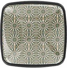 Design Colorful Geometric Texture 4pcs Colorful
