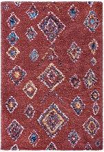 Design Deep Pile Carpet Phoenix Rust Brown 160 x