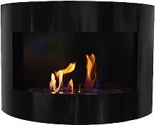 Design Fireplace RIVIERA Deluxe Black Bio Ethanol