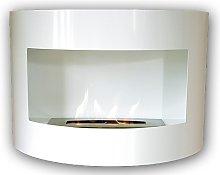 Design Fireplace RIVIERA Deluxe White Bio Ethanol