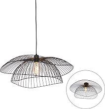 Design hanging lamp black 66 cm - Pua